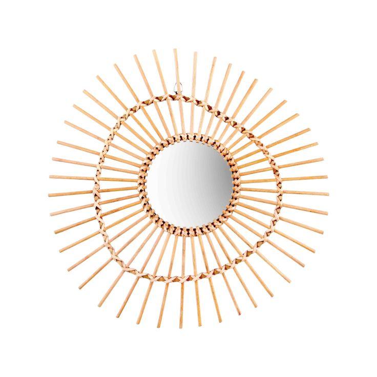 &k Spiegel Bamboe Irregular | Klevering