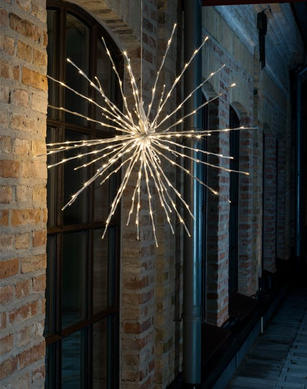 Konstsmide Twinkling LED White Ball Of Twigs Decoration - 2897-242EE None