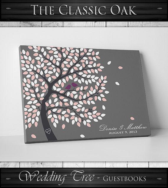 Guest Book Alternative // Guest Book Tree // door WeddingTreePrints