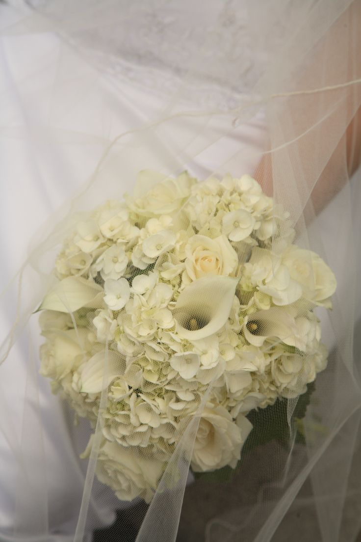 73 best wedding ideas images on pinterest hydrangeas bridal beautiful white bridal bouquet w calla lily roses hydrangea by aria style dhlflorist Choice Image