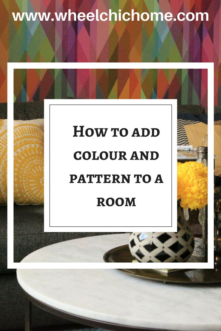 The reveal of my living room makeover, showing how I added lots of colour and pattern to make a bright, modern and comfortable. With the fashion for dark or light rooms, this sitting room decor is full of color and quirky touches. Take a look on the blog for more information.