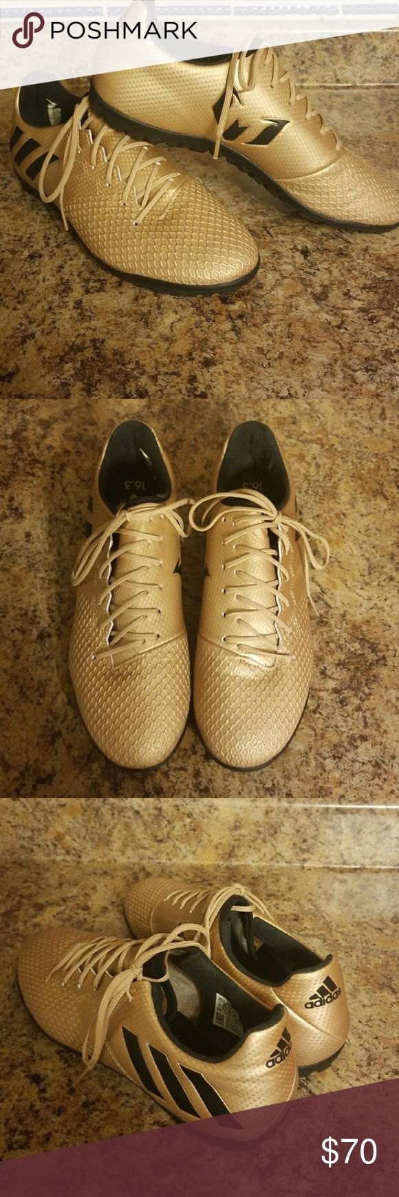 Adidas Messi 2017 16.3 Turf Indoor soccer shoes never worn. Size 7. adidas Shoes Athletic Shoes
