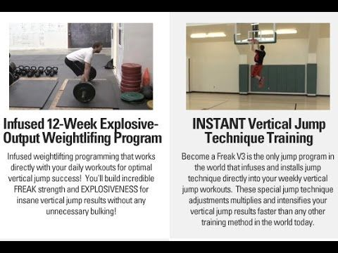 Vertical Jump Programs