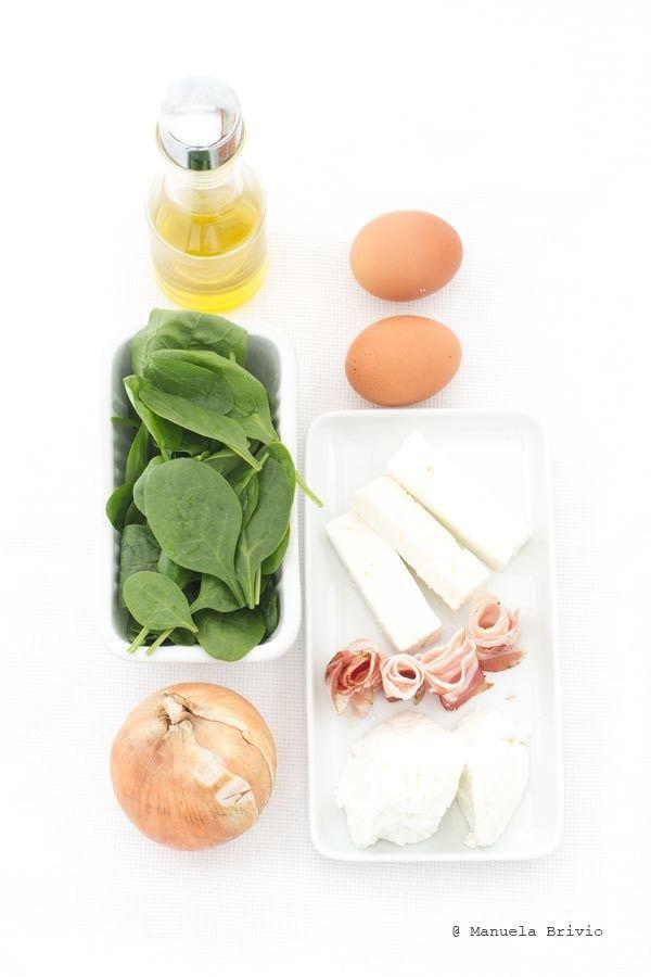 Flan di spinaci - Ingredienti