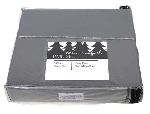 Cabin Comfort Twin XL Sheet Set current configuration zoom image