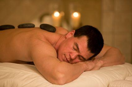 Enjoy a Hot Stone Massage at the Seascape Spa