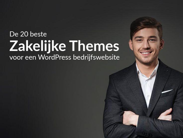 In dit overzicht vind je een selectie van de 20 beste zakelijke WordPress themes van 2017. Met elk van deze WordPress thema's kun je zelf een schitterende en goed vindbare bedrijfswebsite maken.