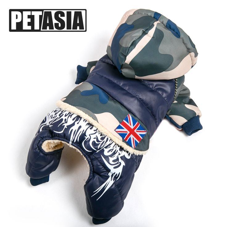 BUY now 4 XMAS n NY. 2017 NEW Warm Camouflage Dog Coat Jacket Winter Waterproof Pet Dog Clothes Fashion for Chihuahua Small Large Dogs XL PETASIA *~* Shop 4 Xmas n 2018. Find out more on  AliExpress.com. Just click the image.