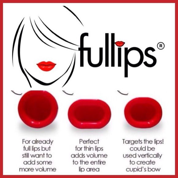 Lip enhancer Large Condition: Brand new, never used  Size: LARGE OVAL  Color: Red  Results last: 1 to 4 hours depending on the person, for longer lasting results, do not use matte lipsticks.    PLEASE DON'T USE THIS IF YOU HAVE LIP INJECTIONS.  Start slow if you are a beginner, do 15 seconds at a time, then move on to 30 seconds, as you may get bruising around your mouth if you leave it on too long. The most I have ever left it on was 5 minutes, checking on it every 1 minute, with great…