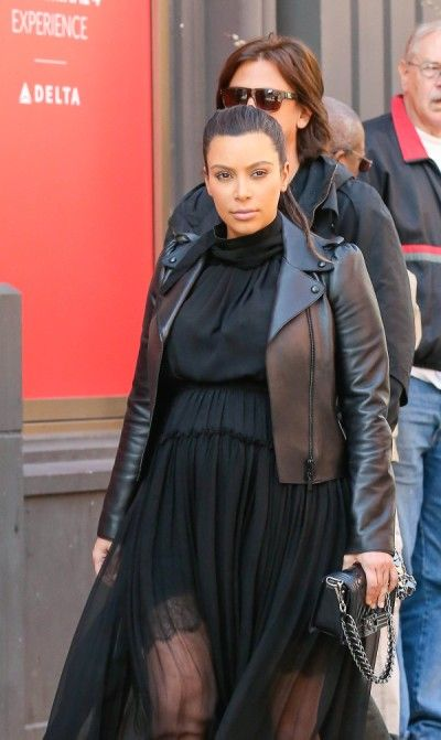 Kim Kardashian, Kanye West Trademarking Baby Name For Clothing Line - Of Course?