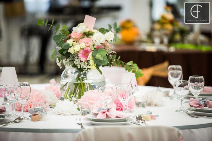 Romantic pink, hot pink wedding theme- Enchantée