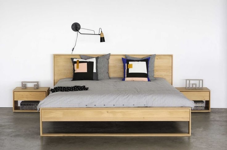 Inspired by our Nordic range we developed Nordic II, a bed that combines elegant lines with the purity of solid wood. With its top-quality material and timeless