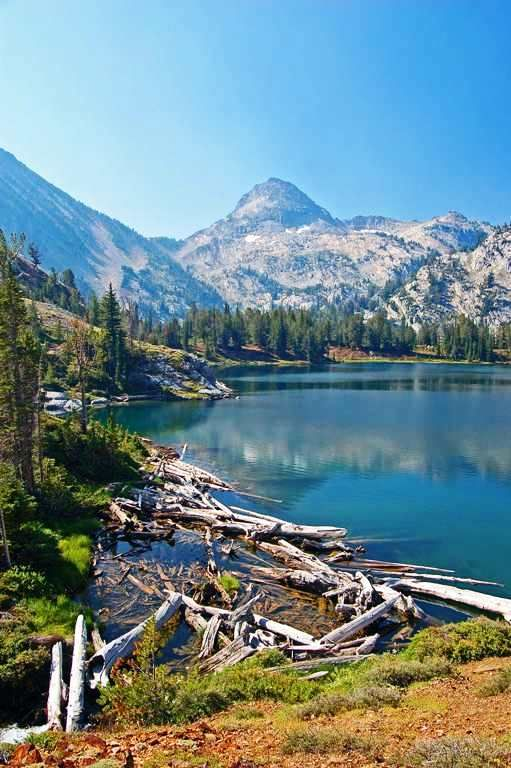 Ice Lake - Eagle Cap Wilderness, Oregon.  <3 this lake.  Backpacking here again this summer.  Can't wait!