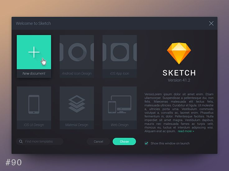 DailyUI design - Create New