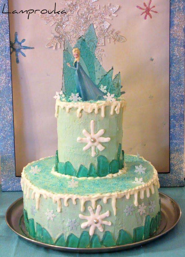 Λαμπρούκα: Τούρτα Frozen!