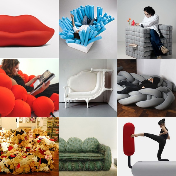 19 Unusual & Creative Sofa Designs