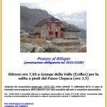 Festa al Rifugio Vaccarone (Exilles)