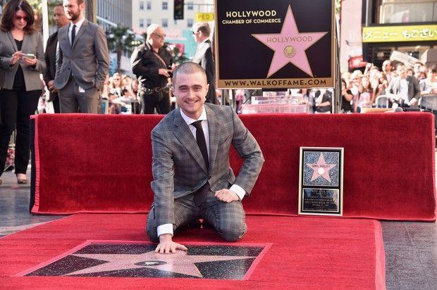 Daniel Radcliffe: Harry Potter è una stella della Walk of Fame