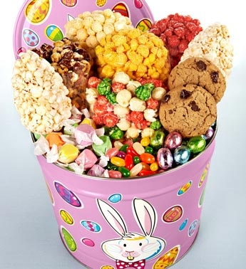 42 best spring easter images on pinterest gourmet popcorn fun bunnys snacks from the popcorn factory usa negle Gallery