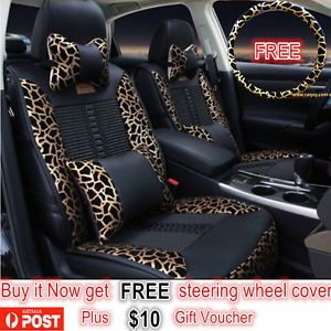 Car-Seat-Covers-PU-Leather-Honda-CRV-Mazda-Holden-BMW-Toyota-Corolla-Camry-RAV4