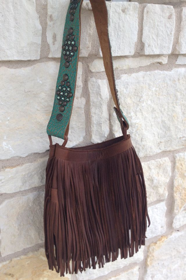 Two Bar West Brown Fringe Handbag Super Cute In 2018 Pinterest Purses Handbags And Bags