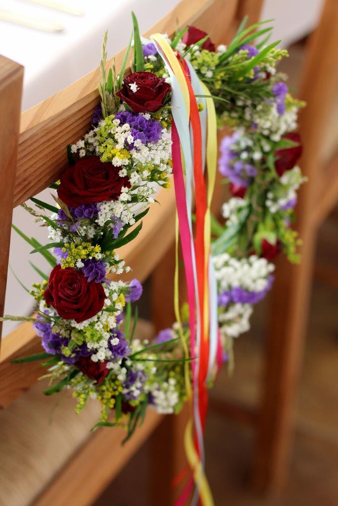 Lúčna svadobná výzdoba