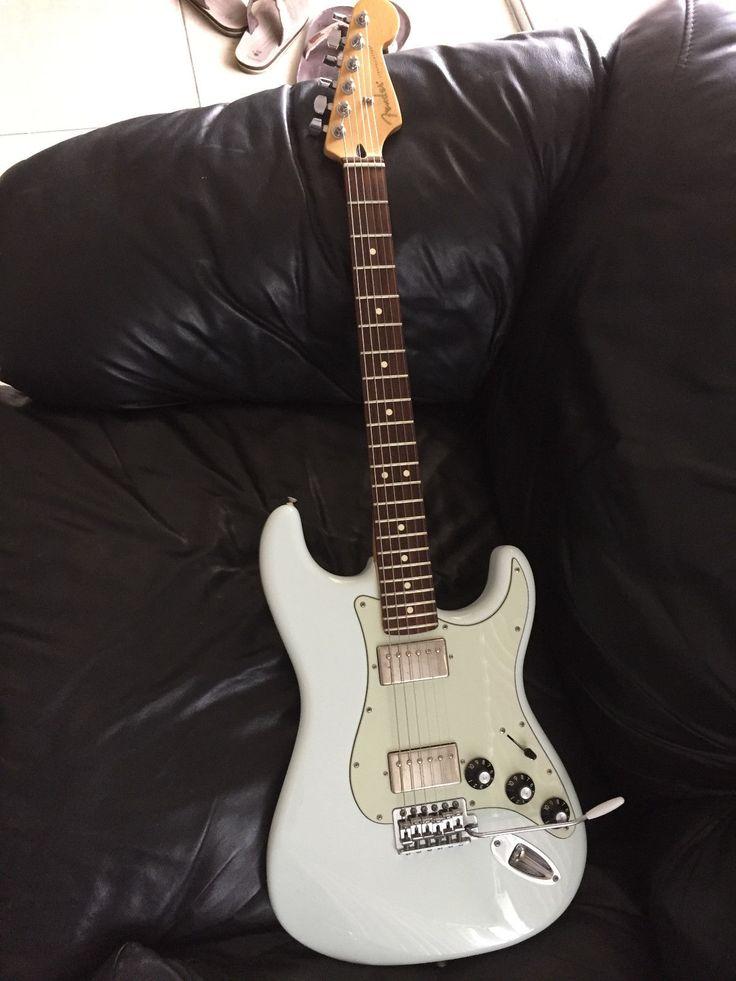 Fender Blacktop Stratocaster  Rare Sonic Blue!