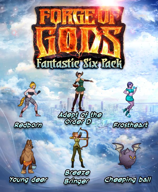 Forge of Gods: Fantastic Six Pack (Steam Keys) by Panoramik Inc.