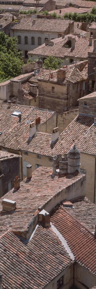 Rooftops of Uzès ~ Gard - une de mes petites villes préférées...