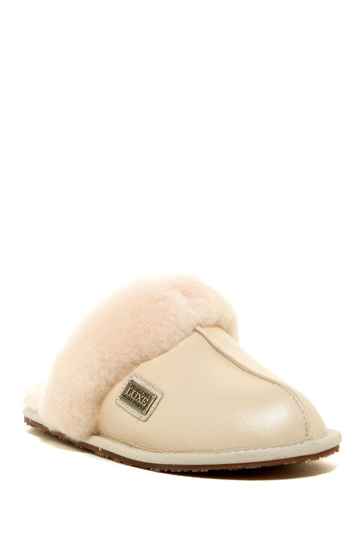 Closedmule Genuine Sheepskin Slipper by Australia Luxe Collective on @nordstrom_rack