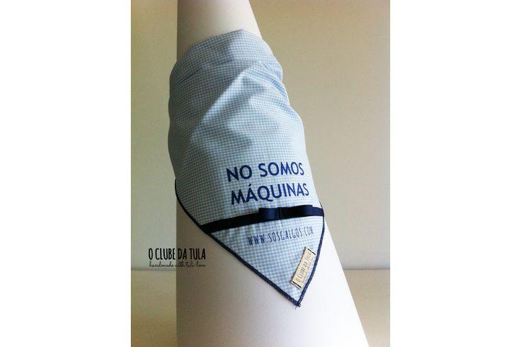 Pañuelo solidario de O Clube da Tula para SOS Galgos http://oclubedatula.com/es/panuelo-solidario-de-o-clube-da-tula-para-sos-galgos/