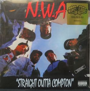 """N.W.A. - Straight Outta Compton #Vinyl LP // """"Respect The Classics"""" Version $24.99 New @ http://www.discogs.com/sell/item/245700860 #HipHop #NWA #RapMusic #Compton #DrDre #Discogs"""