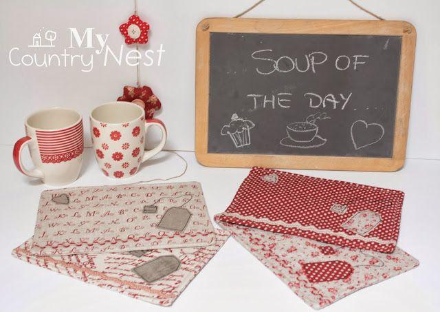 Mug rugs per dolci momenti di relax