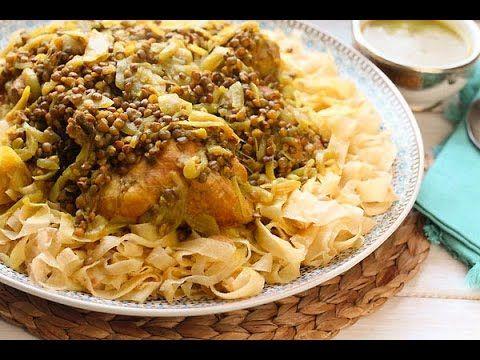 rfissa au poulet recette de la cuisine marocaine traditionnelle ma fleur d oranger المطبخ