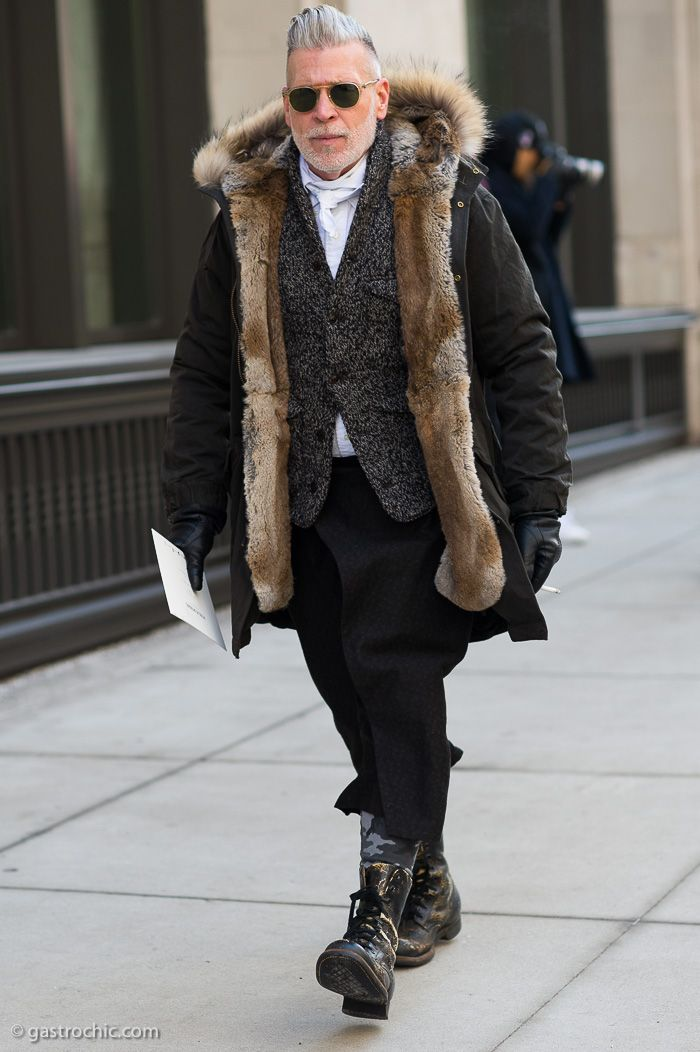 Nick Wooster at Public School FW2015