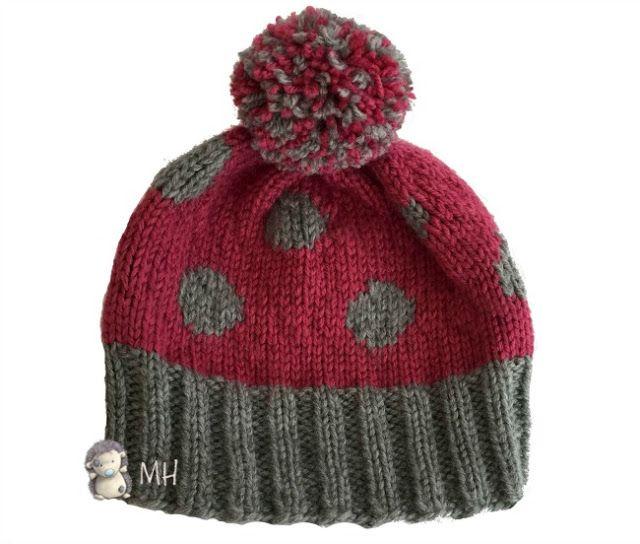 Gorros de lana de moda caidos patrones for Imagenes de gorros de lana