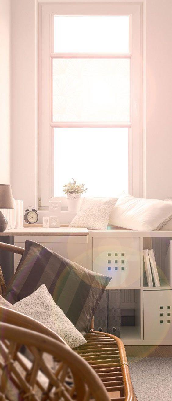 Glasleisten Rollos Sind Elegante Und Unauffällige Innenliegende  Sonnenschutz Lösung, Die In Vielen Trendigen