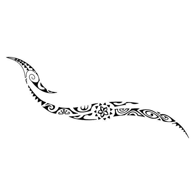 Tattoo Maori Polinesia