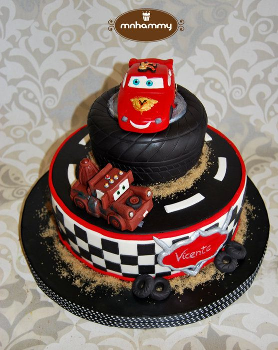 163 best Disneys Cars Cakes images on Pinterest Birthdays Car
