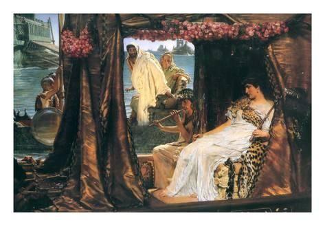 Antonio y Cleopatra Lámina