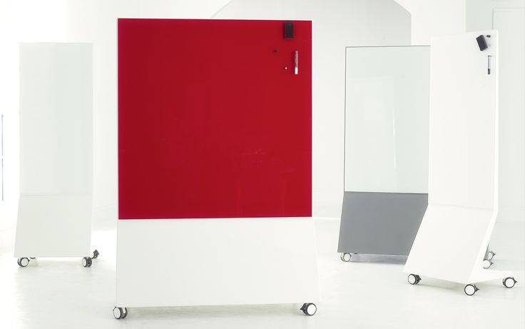Chat-Board, magnetic glass write boards, are available in wide range of standard sizes and colors, and now they're MOBILE!