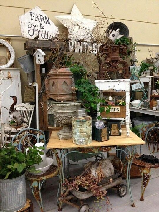 215 Best Images About Booth Displays Flea Market Ideas On
