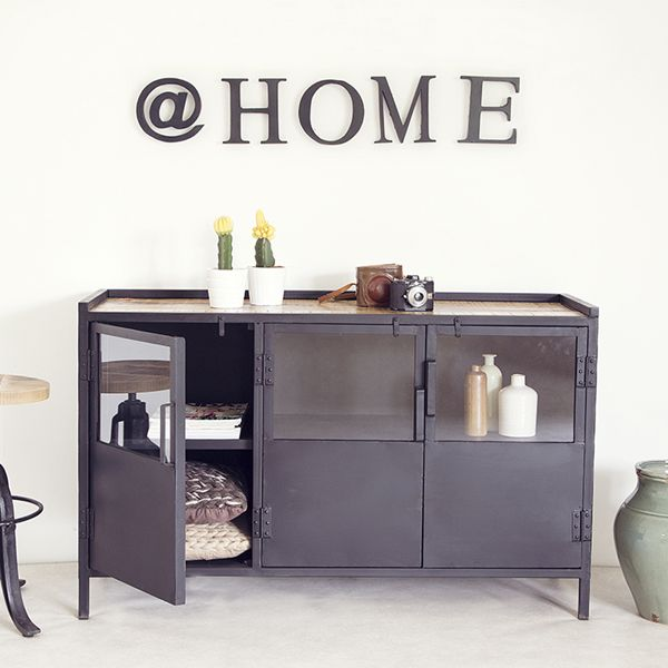 highboard industrial design bestseller shop f r m bel und einrichtungen. Black Bedroom Furniture Sets. Home Design Ideas