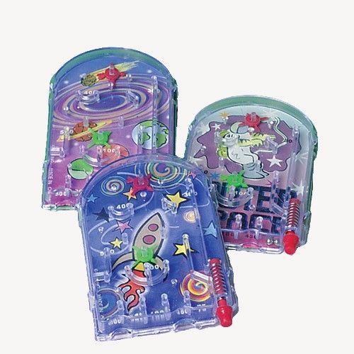 I Love The 80s Toys : Plastic pinball game toy s i love the and