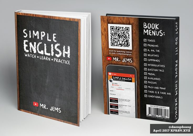 Simple English - Book Cover Design on Behance