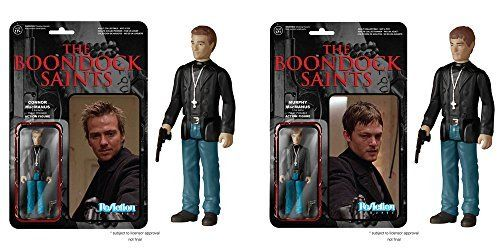Boondock Saints Connor and Murphy MacManus ReAction 3 3/4-Inch Retro Action Figures Set of 2 by Boon @ niftywarehouse.com #NiftyWarehouse #BoondockSaints #NormanReedus #Film #Movies #CultMovies #CultFilms