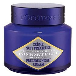 Image of L'occitane Precious Moisturizer Night Cream 1.7 oz Immortelle