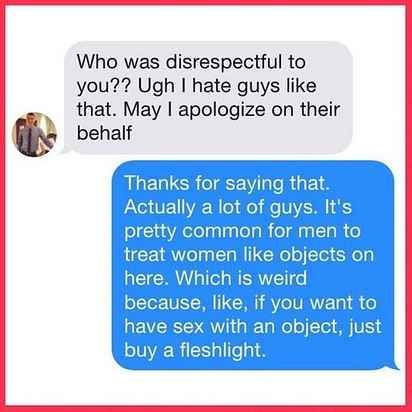 """People Are Mad At Instagram For Deleting A """"Feminists On Tinder"""" Account - BuzzFeed News"""