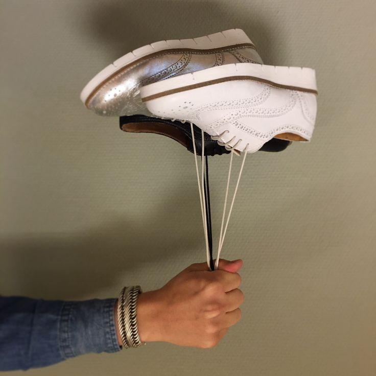 Met deze PS Poelman Brogue dames veterschoenen is elke dag een feestje! #brogue  #veterschoen