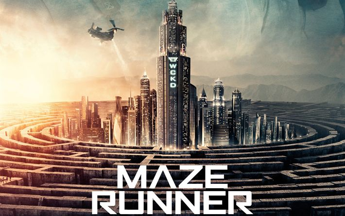 Download wallpapers Maze Runner The Death Cure, poster, 2018 movie, Fantasy